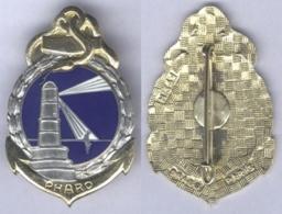 Insigne De L'Ecole De Spécialisation Du Service De Santé De L'Armée De Terre Du Pharo - Medicina