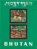 Bhutan Y&T BF 57 Champignons (bloc Spectro) N** MNH - Bhutan