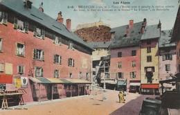 Hautes Alpes : BRIANCON : Place D'armes Avec à Gauche Le Cadran Solaire Au ....... - Briancon