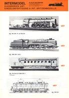 Catalogue INTERMODELL Kleinserien ABT. Neuheiten 1979 Spur HO HOe N - Livres Et Magazines