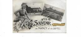 SOUVENIR DE NANCY ET DU 26e RI - Nancy
