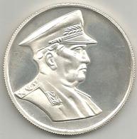 Yugoslavia, Maresciallo Tito, 1943, Ag. 925 FS Gr. 20, Cm. 3,7. - Gettoni E Medaglie