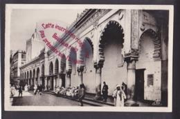 Q1542 - ALGERIE - Mosquée Djemma Djedid Et Rue De La Marine  - Algérie - Algiers