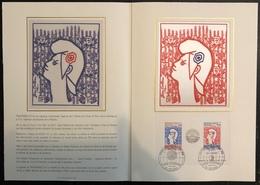 France Document - FDC - Premier Jour - YT Bloc Nº 8 - 1982 - FDC