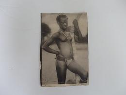 Photo 14,5cm/9cm Décor Oriental Souvenir D.A.O.F. Femmes Seins Nues. - Afrika