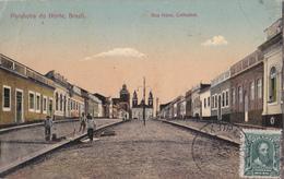 CPA Argentine / Argentina - Parahyba Do Norte - Rua Nova - Cathedral - 1915 - Attention ETAT/Condition - João Pessoa