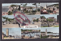 Q1547 - PHILIPPEVILLE - Carte Multivues  - Algérie - Algeria