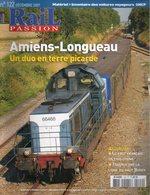 Revue RAIL PASSION N°122, Amiens/Longueau 18p, Fret Francais, Ligne Haut-Bugey, Tram Reims, Grenoble, Madagascar, Poster - Railway & Tramway