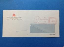 EMA RED AFFRANCATURA MECCANICA ROSSA 1991 BARI SPI SOCIETÀ PER LA PUBBLICITÀ IN ITALIA - Machine Stamps (ATM)
