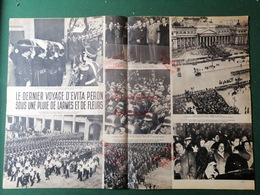 1952 ÉVITA PERON LES OBSÈQUES - CHURCHILL 77 ANS - LA GRÈCE A DEUX ROIS - Journaux - Quotidiens