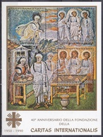 Vatikan Vatican 1990 Religion Christentum Wohlfahrt Welfare Caritas Kunst Arts Santa Maria Maggiore Abraham, Bl. 12 ** - Ungebraucht