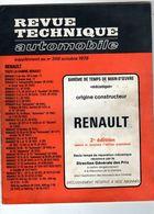 Revue Technique Automobile-barème De Temps De Main-d'oeuvre-Renault-France 1976 - 2° édition - Auto