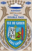 """Carte Postale / écusson Adhésif """" ILE DE GROIX """" - Groix"""