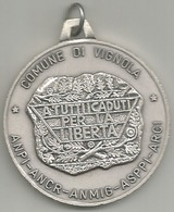Vignola Comune 1990 A Tutti I Caduti Per La Libertà, ANPI ANCR ANMIG ASPPI ARCI, Gr. 24, Cm. 4. - Italia