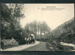 CPA - Environs De MUR DE BRETAGNE - Vallée De POULANCRE - Le Petit Bois, Animé - Attelage - France