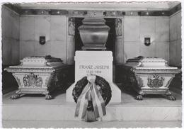 Wien - Kaiser Franz Joseph Mit Kaiserin Elisabeth Und Kronprinz Rudolph - Tomb -  Tombes - Royal Families