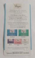 ROMANIA-CIGARETTES  CARD,NOT GOOD SHAPE,0.92 X 0.47 CM - Unclassified