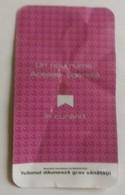 ROMANIA-CIGARETTES  CARD,NOT GOOD SHAPE,0.90 X 0.50 CM - Tabac (objets Liés)
