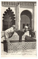 TLEMCEN - Intérieur De La Grande Mosquée - La Fontaine - Ed. LL. - 46 - Tlemcen