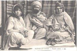 ALGERIE SCENES ET TYPES - LL 6262 - Famille Arabe - Animée - Belle - Scenes