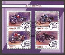 {G42} Guinea 2015 Motorcycles Sheet Used / CTO - Guinea (1958-...)