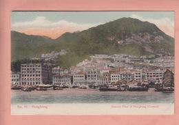OLD  POSTCARD - CHINA - HONGKONG CENTRAL - 1900'S - China (Hong Kong)