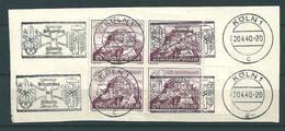 MiNr. 738 Briefstück - Oblitérés