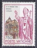 Vatikan Vatican 1991 Religion Christen Weltreisen Papst Päpste Popes Johannes Paull II. Mexiko Mexico, Mi. 1048 ** - Vatikan