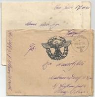 R187 - Feldpost 25402 Du 31 Décembre 1941 Avec Correspondance - Tampon Illustrée Aigle Dans Couronne - - Germany