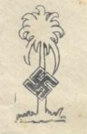 R189 - Feldpost 25402 Du 6 Février 1941 Avec Correspondance - Tampon Illustrée Croix SS Et Palmier - - Briefe U. Dokumente