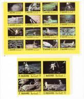 ESPACE - MANAMA - 20 Timbres**  (1970) Apollo 11 - Space