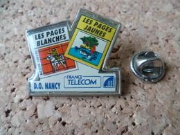 PIN'S  FRANCE TELECOM  NANCY - France Telecom