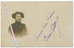 30 AIGUES VIVES ??? CARTE PHOTO / 1915 / RENÉE VALETTE / SOUVENIR D'UNE AMIE / PHOTO LUNEL 71 GRAND' RUE - Aigues-Vives
