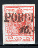 Lombardo Veneto 1850 Sass.4 O/Used VF/F - Lombardo-Veneto
