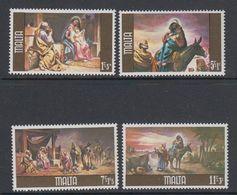 Malta 1979 Christmas / Weihnachten 4v ** Mnh (42805A) - Malta