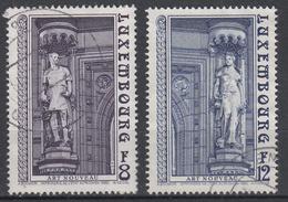 LUXEMBURG - Michel - 1980 - Nr 1014/15 - Gest/Obl/Us - Oblitérés