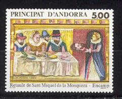 Andorra -Franc 1989 - Retablo Y=384 E=405 - Andorra Francese