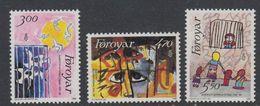 Faroe Islands 1986 Amnesty International 3v ** Mnh (42806A) - Faeroër