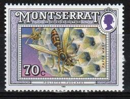 Montserrat 1992 Single 70c Commemorative Stamp From The Insect Set. - Montserrat