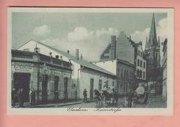 OLD  POSTCARD -   GERMANY - DEUTSCHLAND - ELMSHORN - GASTWIRTSCHAFT - KAISERSTRASSE - Elmshorn
