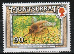 Montserrat 1992 Single 90c Commemorative Stamp From The Insect Set. - Montserrat