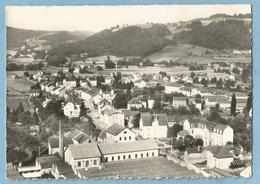 A099  CPSM  LE VAL D'AJOL  (Vosges)  Hospice Et Partie Nord   - Usine  -   EN AVION AU-DESSUS DE  ++++ - France