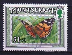 Montserrat 1992 Single $1.50c Commemorative Stamp From The Insect Set. - Montserrat