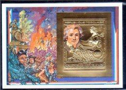TOGO -  BLOC N° 345 B  ** NON DENTELE  (1989) Bicentenaire De La Révolution - French Revolution