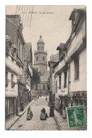 - CPA AURAY (56) - La Rue Du Lait 1911 (avec Personnages) - Collection Villard 2111 - - Auray