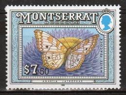 Montserrat 1992 Single $7.50c Commemorative Stamp From The Insect Set. - Montserrat