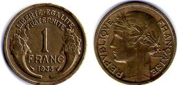 1 FRANC 1935 - Francia