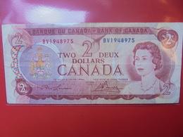 CANADA 2$ 1974 CIRCULER - Canada