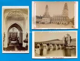 Pas De Calais - CALAIS  - 3 CDV Photo Vers 1880 - Photographs