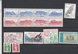Saint Pierre Et Miquelon 1991 Yvert  N°  534 à 547 + 549A + 550 à 554  ** - St.Pierre & Miquelon